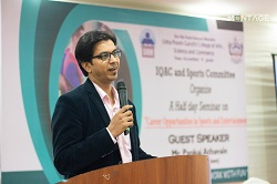 IQAC-Seminar On Sports And Entertainment